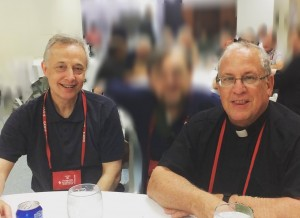 Fr. Tomaz Mavric and Fr. Gregory Gay, Superiors General
